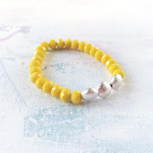 Annie bracelet yellow