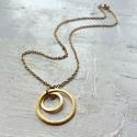 Solar rings necklace - picture 1