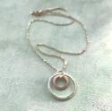 Solar rings necklace - picture 2