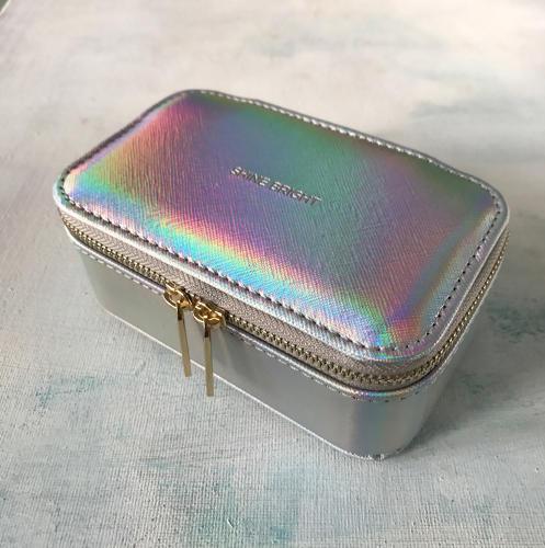 Jewellery case Silver