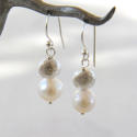 Galaxy pearl earrings - picture 2