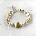 Galaxy pearl bracelet - picture 1