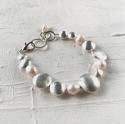 Galaxy pearl bracelet - picture 2