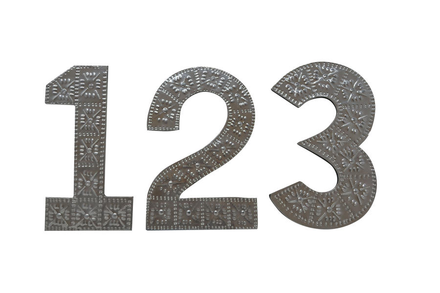 0-9 Aluminium Number