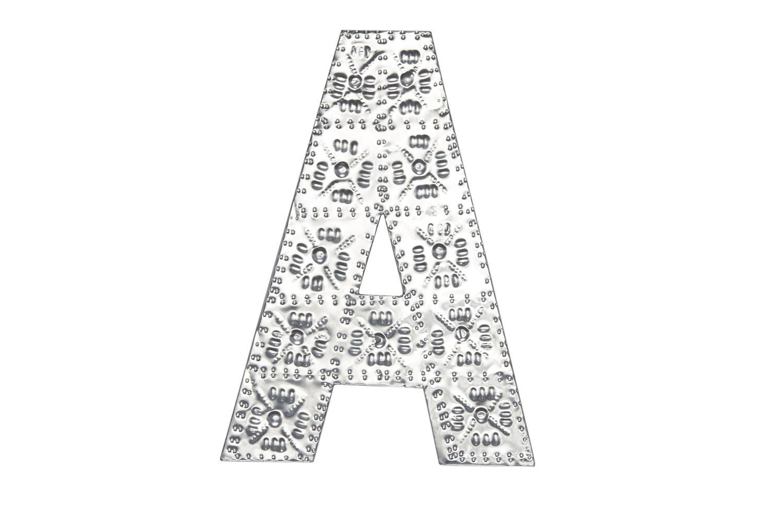 20cm A-Z Aluminium Letters
