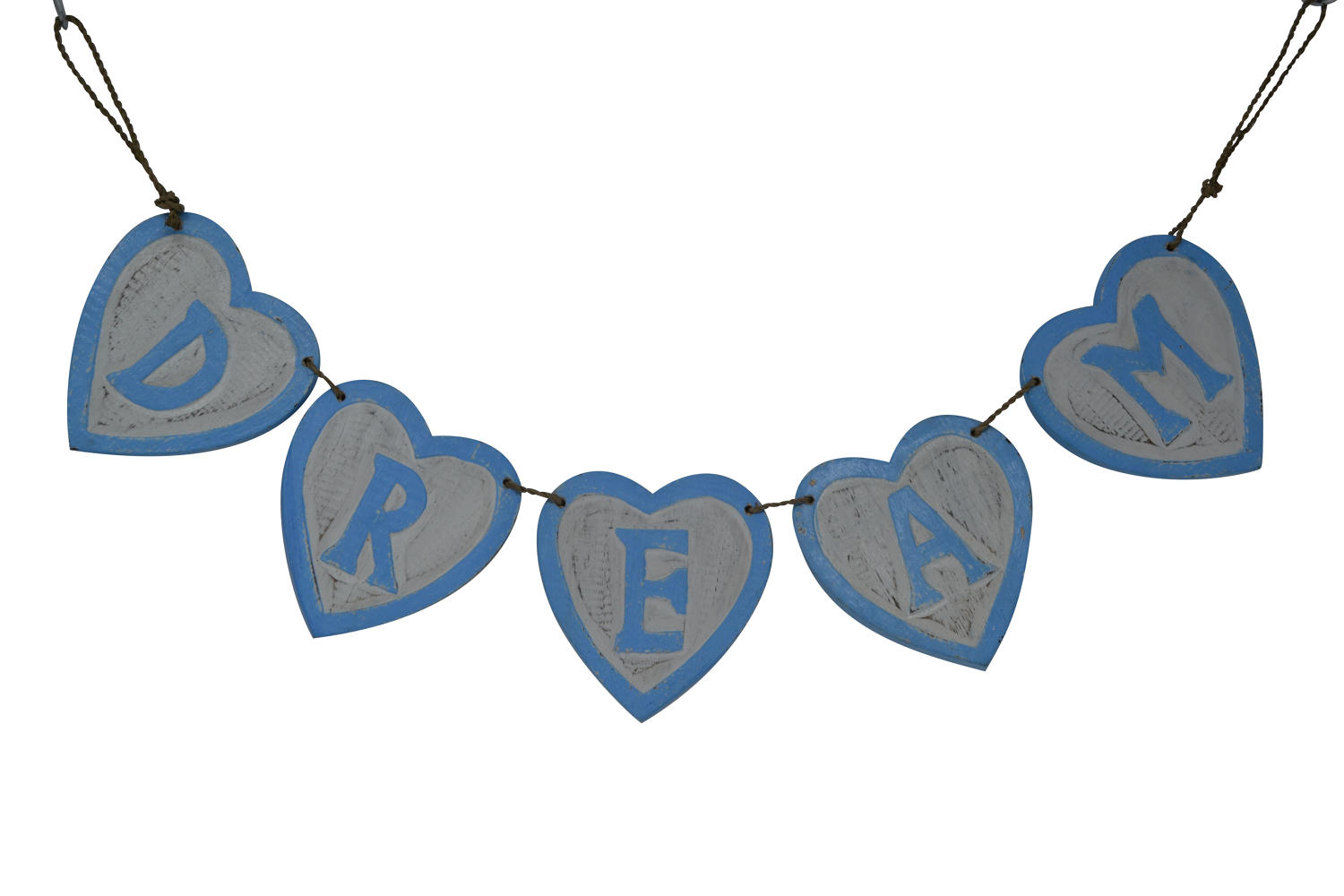 Wooden Bunting - DREAM
