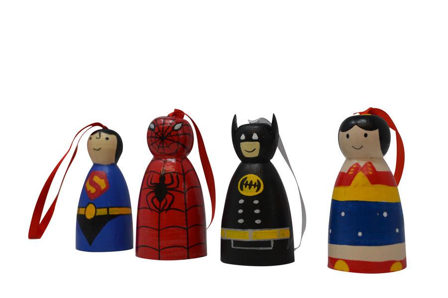 Mini Hero Characters