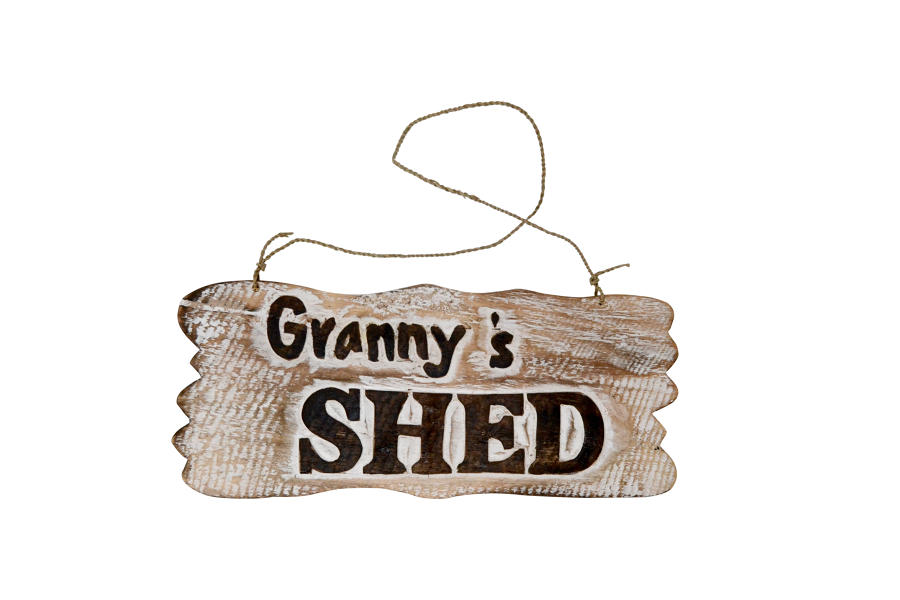 Granny's Shed Plaque