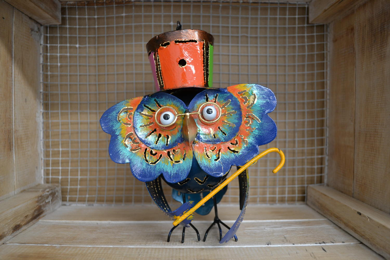 Mad Hatter Owl Tealight