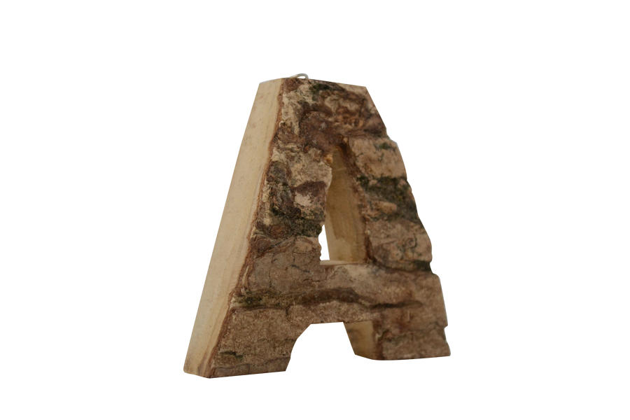 Bark Letters A-Z