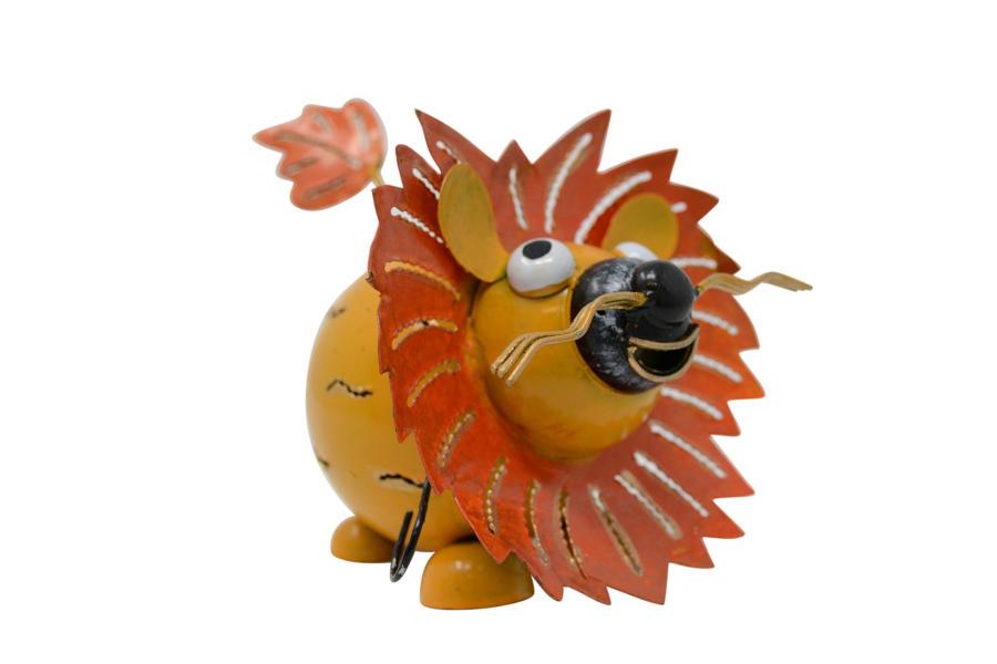 Metal Tealight Lion