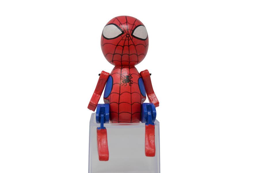 Round Sitting Spiderman
