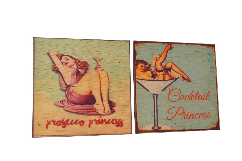Vintage Wooden Coasters