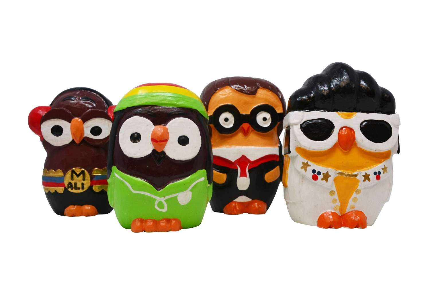 Wooden Owl Characters