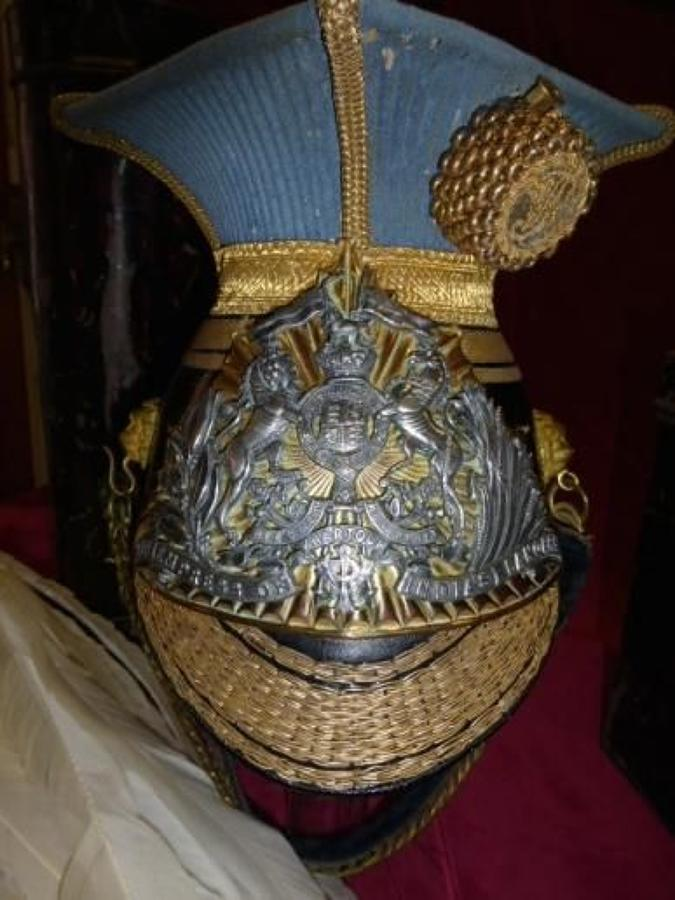 21st (Empress of India) Lancers Officers lance cap.