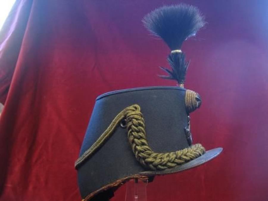 Victorian Cameronians (Scottish Rifles) Other rank's Shako,