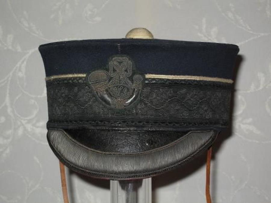 DURHAM LIGHT INFANTRY VOLUNTEER BATTALION 1880 PATTERN FORAGE CAP