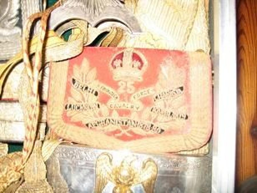 25th Indian Cavalry (Frontier Force) Officer's pouch circa 1903-22.