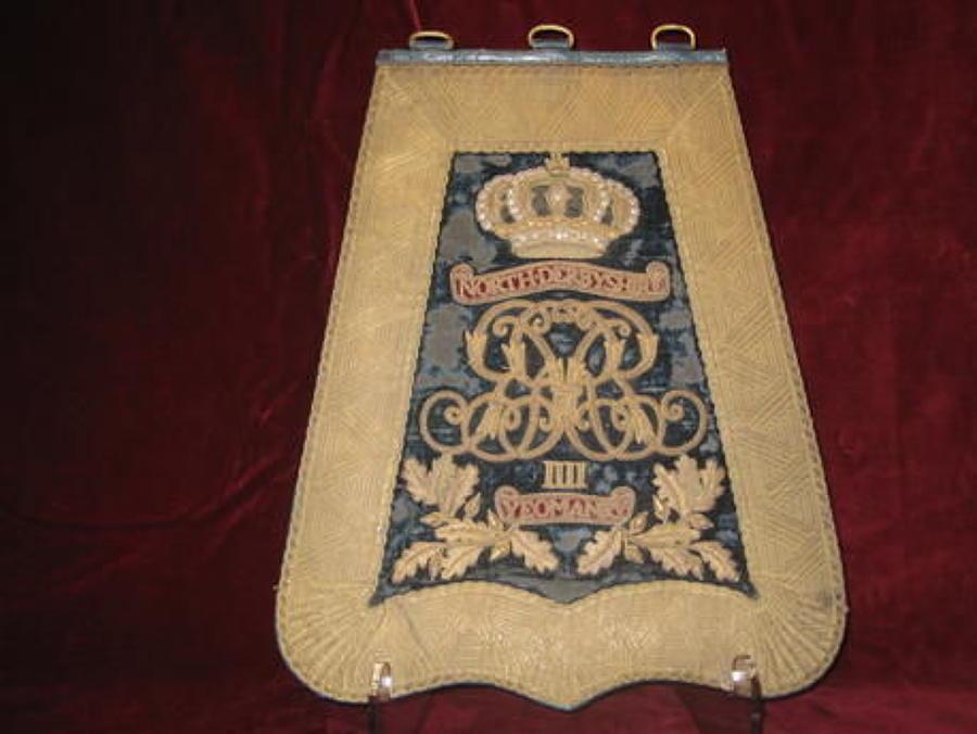 North Derbyshire Yeomanry Officers Sabretache