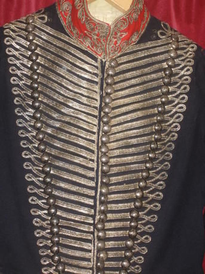 Royal Midlothian Cavalry Officers Levee Dress Coatee Circa 1818/38