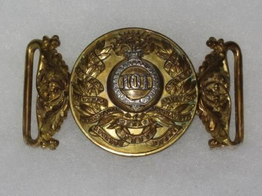 101st Royal Bengal Fusiliers Special Pattern Waist Belt Clasp.