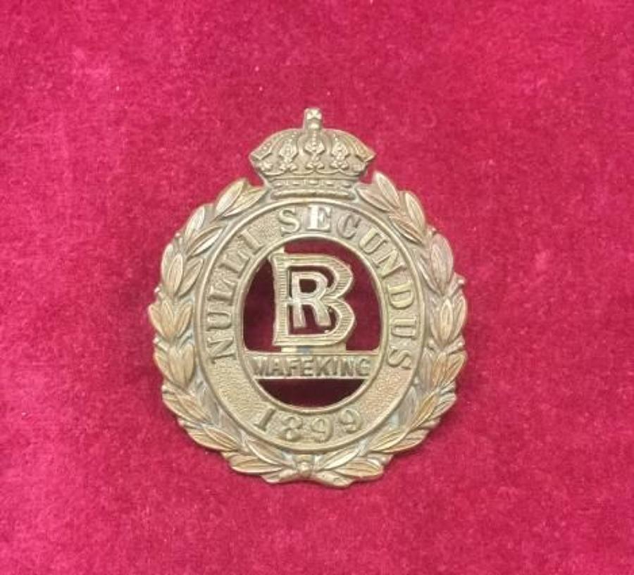 Bechuanaland Rifles (Volunteers) Cap Badge
