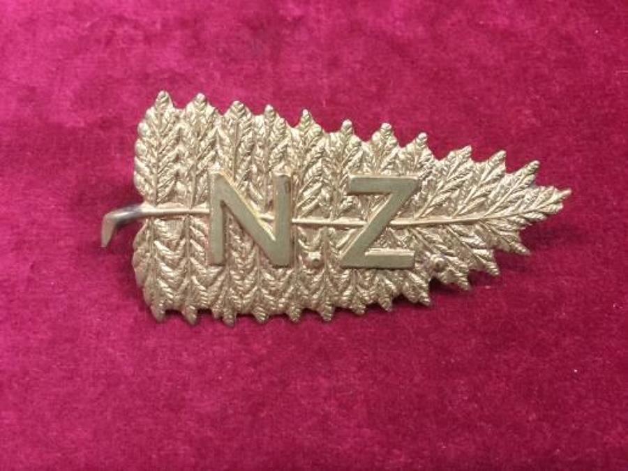 Kings Colonials New Zealand Sqn Cap Badge