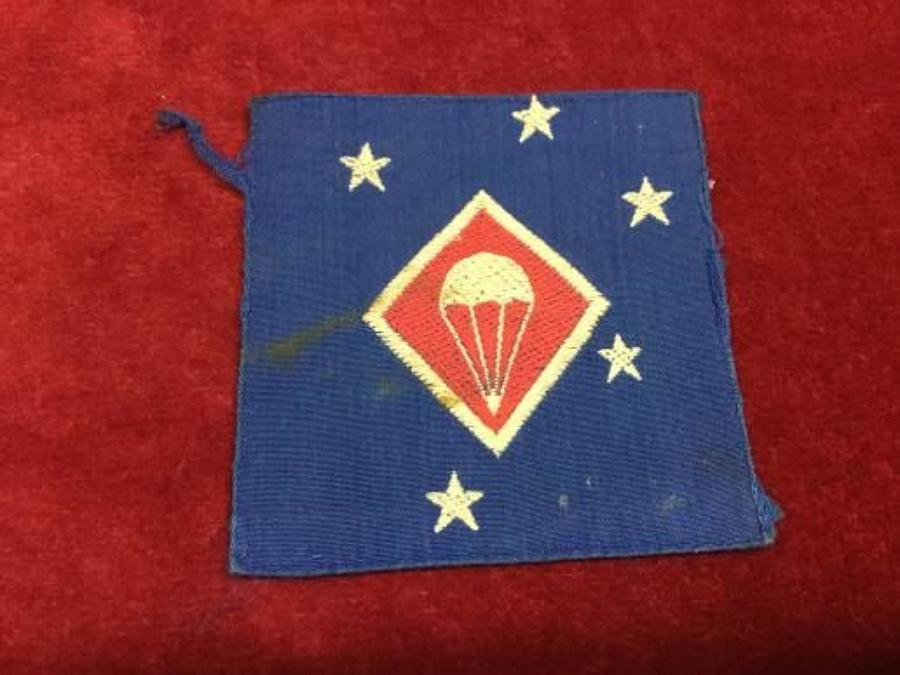 1st Marine Corps MAC Para Battalion arm patch