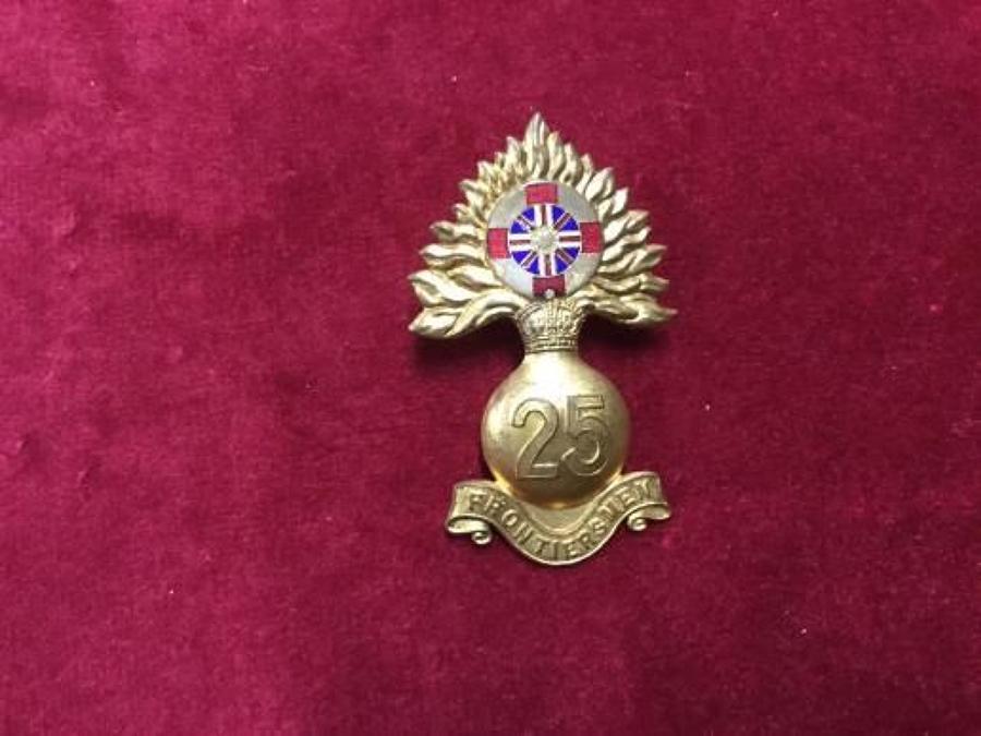 25th Royal Fusiliers (City of London Regiment) Frontiersmen Officers C