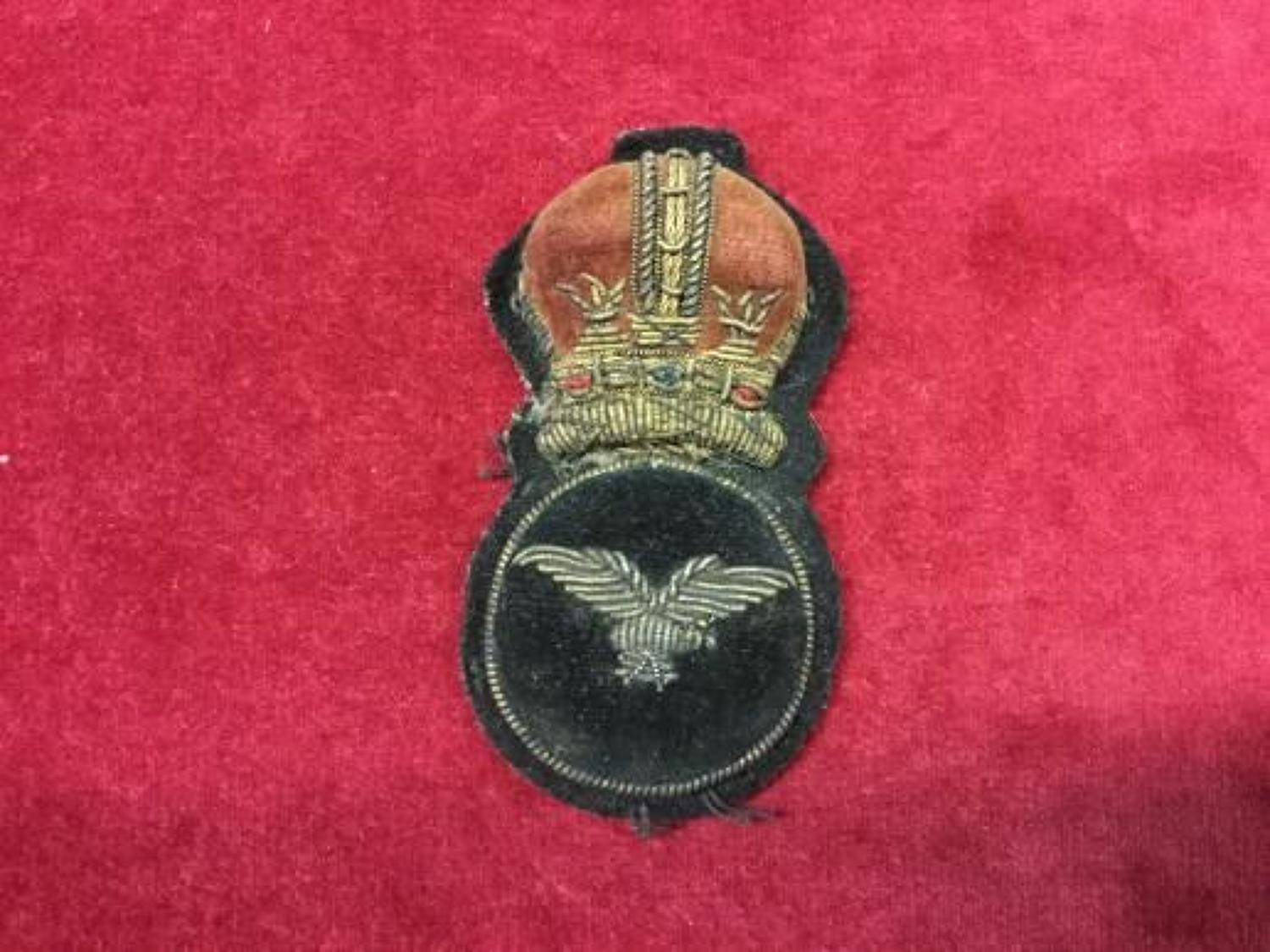 Royal Air Force 1918  Cap Insignia