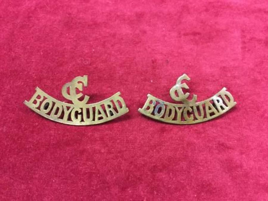 Commander in Chiefs Shoulder Title pair