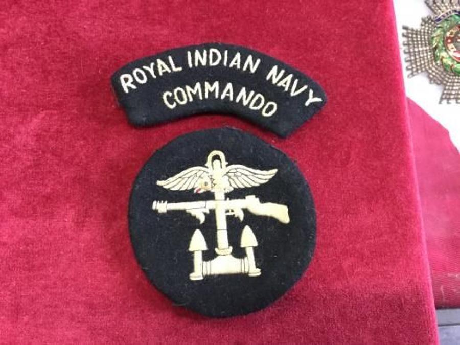 Royal Indian Navy 'Commando'