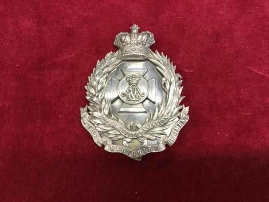 2nd VB The Wiltshire Regiment Officers Shoulder Belt Plate