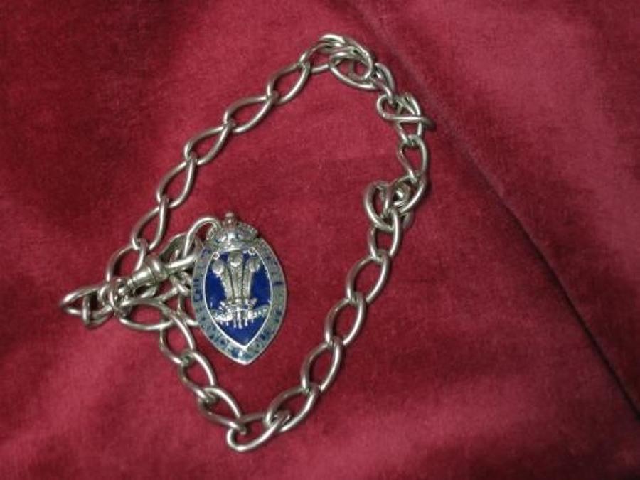 Civil Service Rifle Volunteer's Sterling Silver Enamelled Prize Medal
