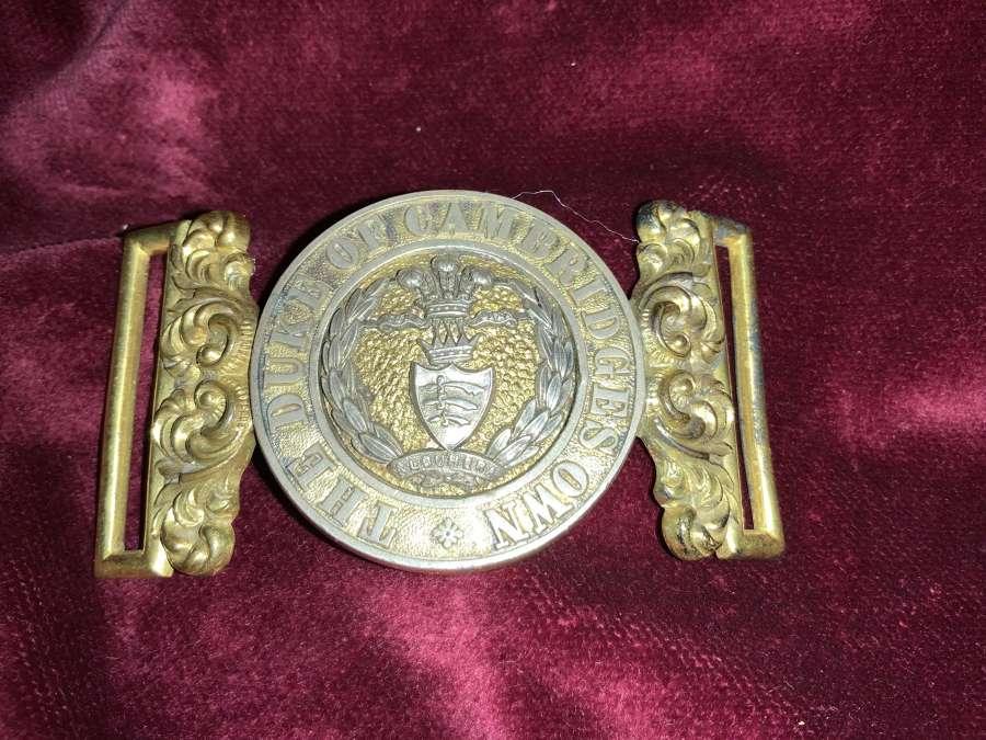 The Duke Of Cambridges Own, Officers Post 1881 WBC.