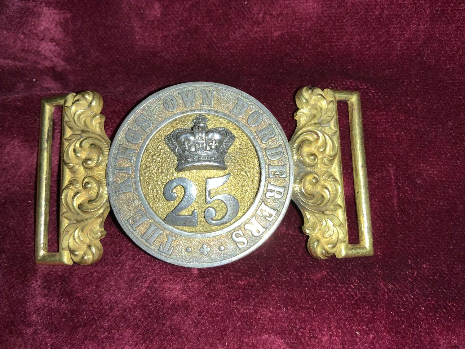 25th Of Foot, ''Kings Own Borderers, Officers Pre 1881 WBC