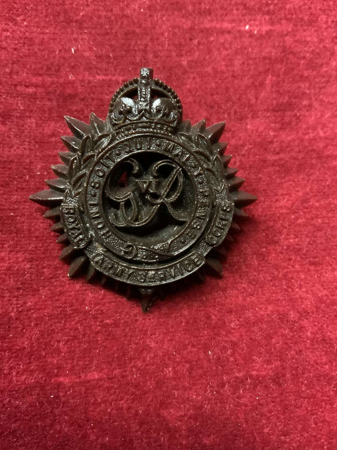 Royal Army Service Corps.