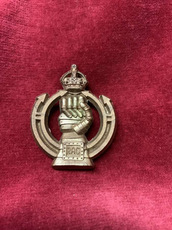 Royal Armoured Corps.