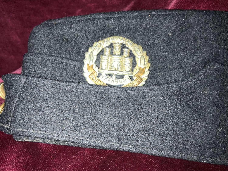 Northamptonshire Regiment Other Ranks, Side Cap.