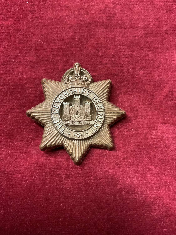 Devonshire Regiment.