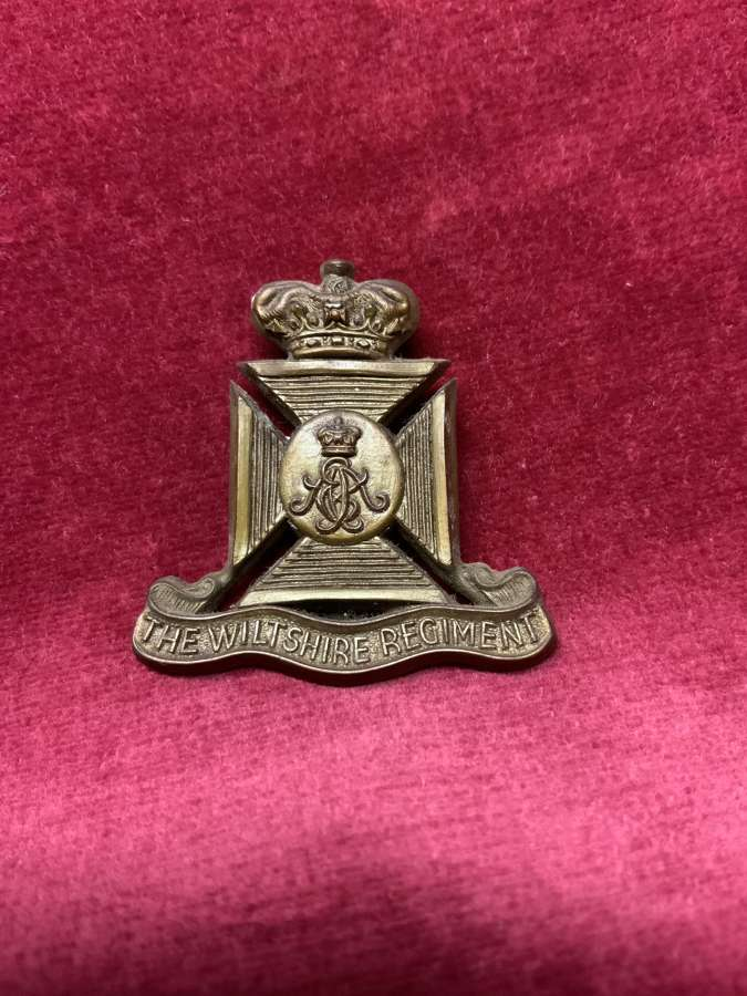 The Wiltshire Regiment, x's Two Silver & Bronze
