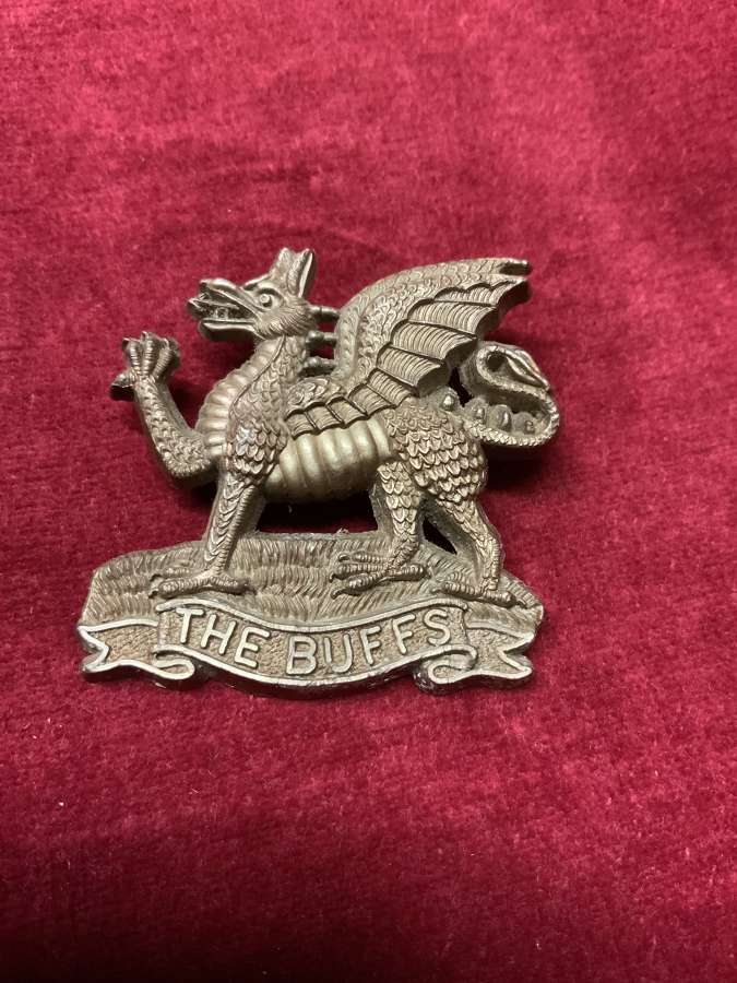 The Buffs, Bronze Coloured Cap Badge.