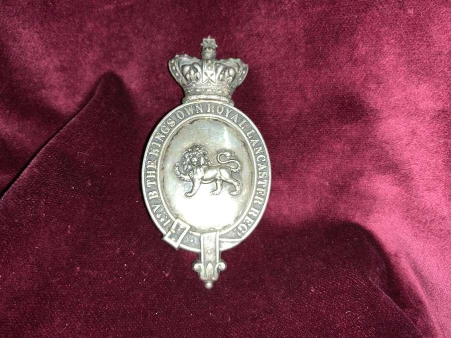 Kings Own Lancaster Regiment 1st VB Officers SBP
