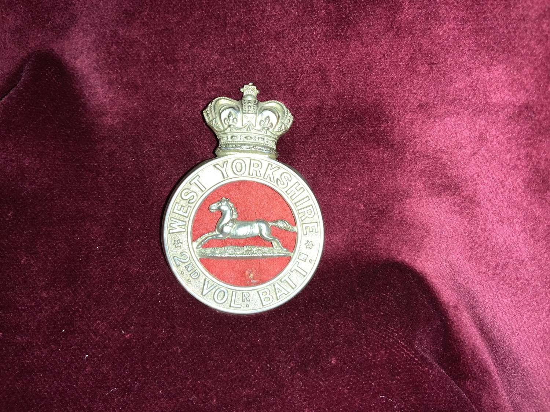 West Yorkshire, 2nd Volunteer Battalion, Or's Glengary Cap Badge.