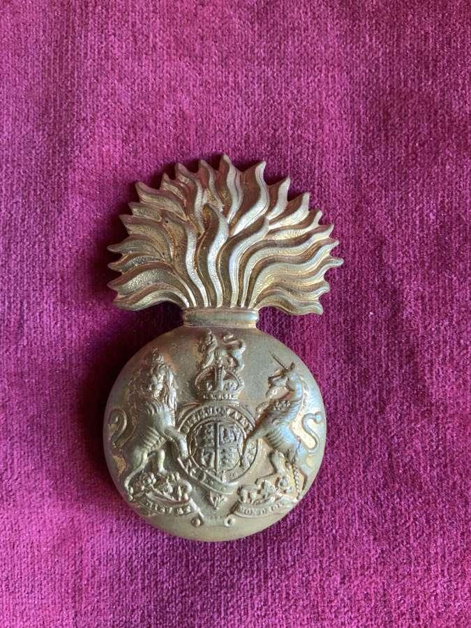 Royal Scots Fusiliers, Glengarry Badge, K.C.