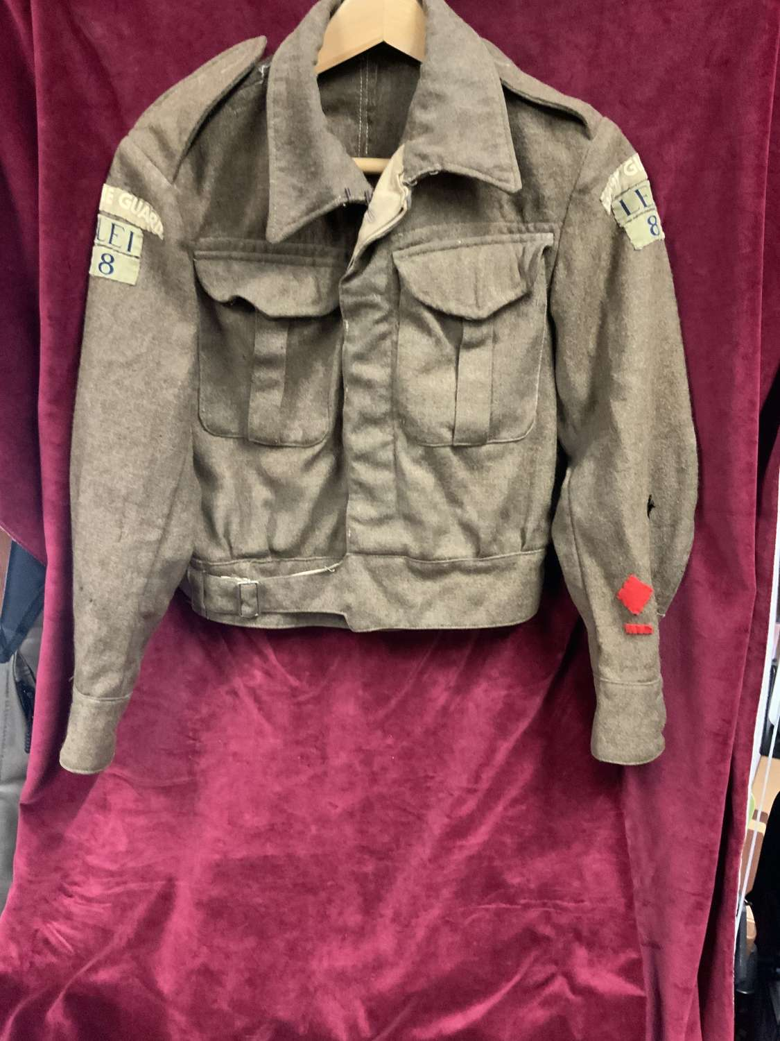 Leicestershire Home Guard, Battle Dress Jacket