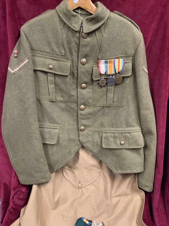 4th Tyneside Scottish, Bomber, Lance Corporal WW1 Doublet.