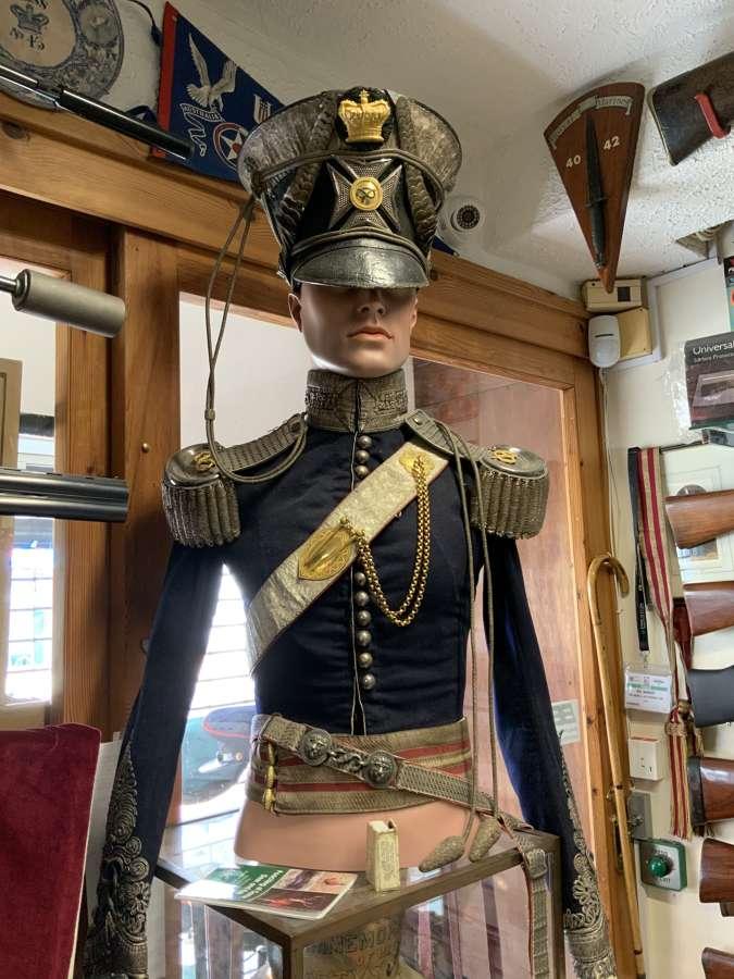 Staffordshire Yeomanry Complete Uniform Circa 1837
