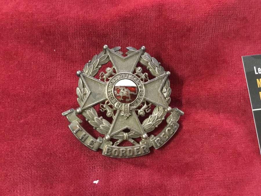 Militia Bn Border Regiment Officers Glengarry Badge