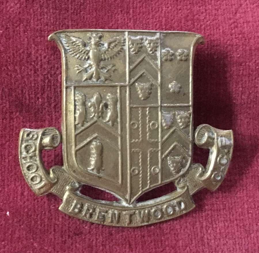 Brentwood School CCF Cap Badge